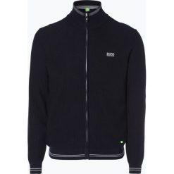 Swetry rozpinane męskie: BOSS Athleisure – Kardigan męski – Zam_W17, niebieski