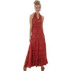 Odzież damska: Sukienka w kolorze pomarańczowym