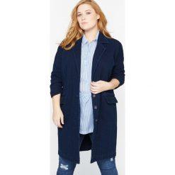 Płaszcze damskie pastelowe: Denimowy płaszcz