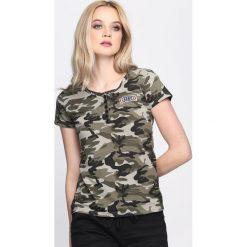 T-shirty damskie: Zielony-Moro T-shirt Defiance