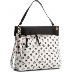 Torebka NOBO - NBAG-E2220-C000 Biały Z Czarnym. Białe torebki klasyczne damskie marki Nobo, ze skóry ekologicznej. W wyprzedaży za 129,00 zł.