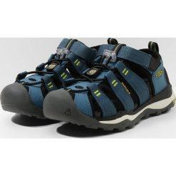 Keen NEWPORT NEO H2 Sandały trekkingowe legion blue/moss. Niebieskie sandały chłopięce Keen, z materiału. Za 259,00 zł.