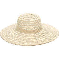 Kapelusz damski Zygzaki beżowy (cz16114-1). Brązowe kapelusze damskie Art of Polo. Za 32,73 zł.