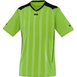 Jako Copa krótki rękaw Koszulka - mężczyźni - jabłko / black_l. Zielone bluzki sportowe damskie Jako, l, z krótkim rękawem. Za 55,98 zł.