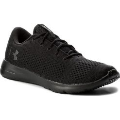 Buty UNDER ARMOUR - Ua Rapid 1297445-004 Blk/Blk/Ath. Czarne buty do biegania męskie marki Under Armour, z gumy. W wyprzedaży za 199,00 zł.