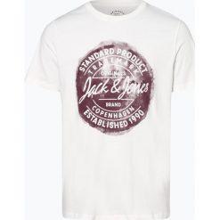 Jack & Jones - T-shirt męski – Jorrejistood, czarny. Czarne t-shirty męskie Jack & Jones, m. Za 59,95 zł.