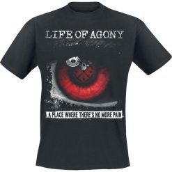 T-shirty męskie: Life Of Agony A place where there's no more pain - Face the beast T-Shirt czarny