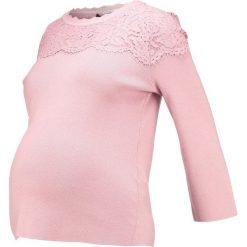 Swetry klasyczne damskie: Anna Field MAMA Sweter rose