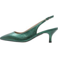 Toral Czółenka eclat green. Zielone czółenka Toral, z materiału. W wyprzedaży za 423,20 zł.