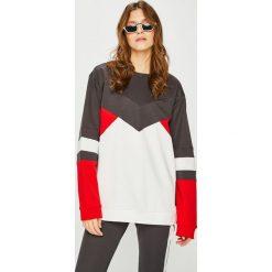 Calvin Klein Performance - Bluza. Szare bluzy rozpinane damskie Calvin Klein Performance, l, z bawełny, bez kaptura. Za 399,90 zł.
