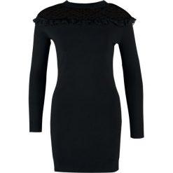 Sukienki dzianinowe: Navy London ESME Sukienka dzianinowa black