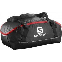 Salomon Torba Sportowo-Podróżna Prolog 40 Bag Black/Bright Red. Szare torby podróżne marki Salomon, z gore-texu, na sznurówki, outdoorowe, gore-tex. W wyprzedaży za 209,00 zł.