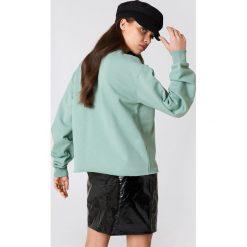 Bluzy rozpinane damskie: NA-KD Urban Bluza Cool Girl - Green