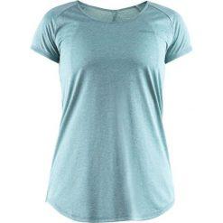 Bluzki asymetryczne: Craft Koszulka damska Eaze SS Melange Tee Niebieska r. M  (1905875 - 610200)