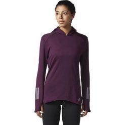Bluzy sportowe damskie: Adidas Bluza damska RS CLima Hoodie fioletowa r. L (BS2906)