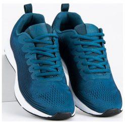 Materiałowe obuwie męskie AX BOXING niebieskie. Niebieskie buty sportowe męskie AX BOXING, z materiału. Za 109,00 zł.