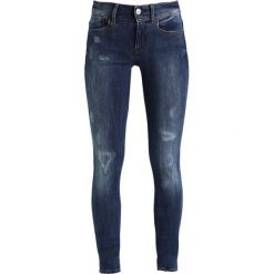 GStar LYNN MID SUPER SKINNY  Jeans Skinny Fit trender ultimate stretch denim. Szare jeansy damskie relaxed fit marki G-Star, z bawełny. Za 469,00 zł.