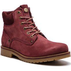 Trapery WRANGLER - Yuma Lady WL182507 Burgundy 90. Czerwone buty zimowe damskie Wrangler, z materiału. W wyprzedaży za 279,00 zł.