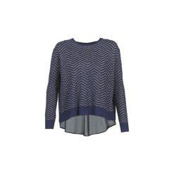Swetry Le Temps des Cerises  CERES. Niebieskie swetry klasyczne damskie Le Temps Des Cerises, m. Za 279,20 zł.