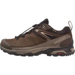 Salomon X ULTRA 3 GTX Obuwie hikingowe delicioso/vintage kaki. Brązowe buty sportowe męskie Salomon, z materiału, outdoorowe. Za 699,00 zł.
