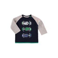Esprit  Boy Bluzka z długim rękawem. Czarne t-shirty chłopięce z długim rękawem marki Esprit, z bawełny. Za 45,00 zł.
