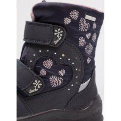 Lurchi KIMMISYMPATEX Śniegowce atlantic. Czarne buty zimowe damskie marki Lurchi, z materiału. W wyprzedaży za 215,20 zł.