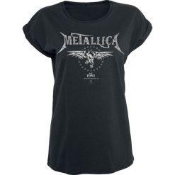Bluzki asymetryczne: Metallica Biker Koszulka damska czarny