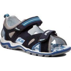 Sandały BARTEK - 16176-0KP Granatowy. Niebieskie sandały męskie skórzane Bartek. W wyprzedaży za 169,00 zł.