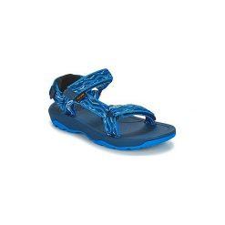 Sandały sportowe Dziecko  Teva  HURRICANE XLT 2. Niebieskie buty sportowe chłopięce Teva. Za 143,20 zł.