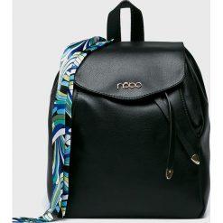Nobo - Plecak. Czarne plecaki damskie Nobo, z materiału. W wyprzedaży za 169,90 zł.