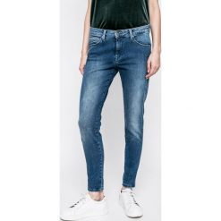 Pepe Jeans - Jeansy Aero. Niebieskie jeansy damskie rurki marki Pepe Jeans, z bawełny. W wyprzedaży za 269,90 zł.