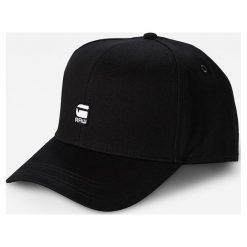 G-Star Raw - Czapka. Czarne czapki z daszkiem męskie G-Star RAW. W wyprzedaży za 139,90 zł.