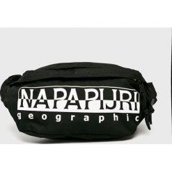 Napapijri - Nerka. Czarne walizki marki Napapijri, w paski, z materiału, małe. Za 189,90 zł.