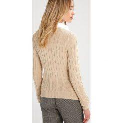 Polo Ralph Lauren KIMBERLY Sweter natural. Brązowe swetry klasyczne damskie Polo Ralph Lauren, xl, z bawełny, polo. W wyprzedaży za 369,85 zł.