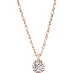 Naszyjniki damskie: Naszyjnik w kolorze różowego złota z zawieszką – (D)45 cm
