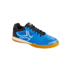 Buty Do Tenisa Stołowego Tts 500. Niebieskie buty do tenisa męskie ARTENGO, z gumy. Za 129,99 zł.