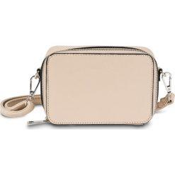 Mała torebka bonprix cielisty. Brązowe torebki klasyczne damskie marki bonprix, małe. Za 44,99 zł.