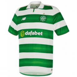Koszulka Celtic F.C.Home Kit. Zielone koszulki do piłki nożnej męskie New Balance, na jesień, m, z materiału. W wyprzedaży za 119,99 zł.