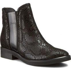 Sztyblety SERGIO BARDI - Basilia FW127283617GM  601. Czarne buty zimowe damskie marki Sergio Bardi, z materiału, na obcasie. W wyprzedaży za 209,00 zł.