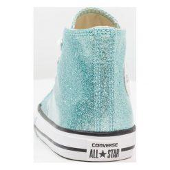 Converse CHUCK TAYLOR ALL STAR INFANT Tenisówki i Trampki wysokie bleached aqua/natural/white. Niebieskie trampki dziewczęce marki Converse, z materiału, retro. Za 209,00 zł.
