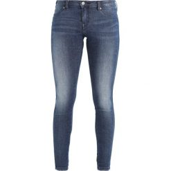 Boyfriendy damskie: Dr.Denim Petite KISSY LOW RISE SKINNY Jeans Skinny Fit blue denim