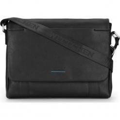 Torba na laptopa 87-4P-509-1. Czarne torby na laptopa marki Wittchen, w paski. Za 379,00 zł.