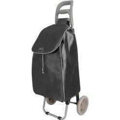 """Torebki klasyczne damskie: Wózek zakupowy """"Aster"""" w kolorze czarnym - 45 l"""