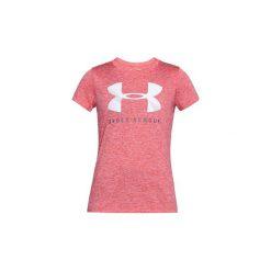 T-shirty z krótkim rękawem Under Armour  UA Tech Graphic Twist Ssc 1309897-714. Różowe t-shirty damskie marki Under Armour, xs. Za 99,99 zł.