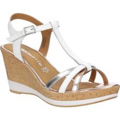 Sandały skórzane Tamaris 1-28347-28. Brązowe sandały damskie marki Tamaris. Za 198,99 zł.
