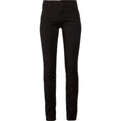 7 for all mankind KIMMIE STRAIGHT  Jeansy Straight Leg black denim. Czarne jeansy damskie 7 for all mankind. W wyprzedaży za 510,95 zł.