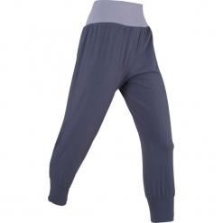 Spodnie haremki, dł. 3/4, Level 1 bonprix jagodowy. Fioletowe bryczesy damskie bonprix, z dżerseju, na fitness i siłownię. Za 74,99 zł.