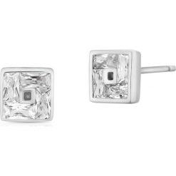 Kolczyki damskie: Kolczyki Srebrne – srebro 925, Cyrkonia