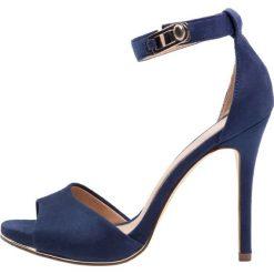 Rzymianki damskie: Call it Spring THALIWIA Sandały na obcasie medium blue