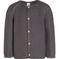 Hessnatur BABY UNI Kardigan graphit. Szare swetry dziewczęce hessnatur, z bawełny. W wyprzedaży za 167,20 zł.